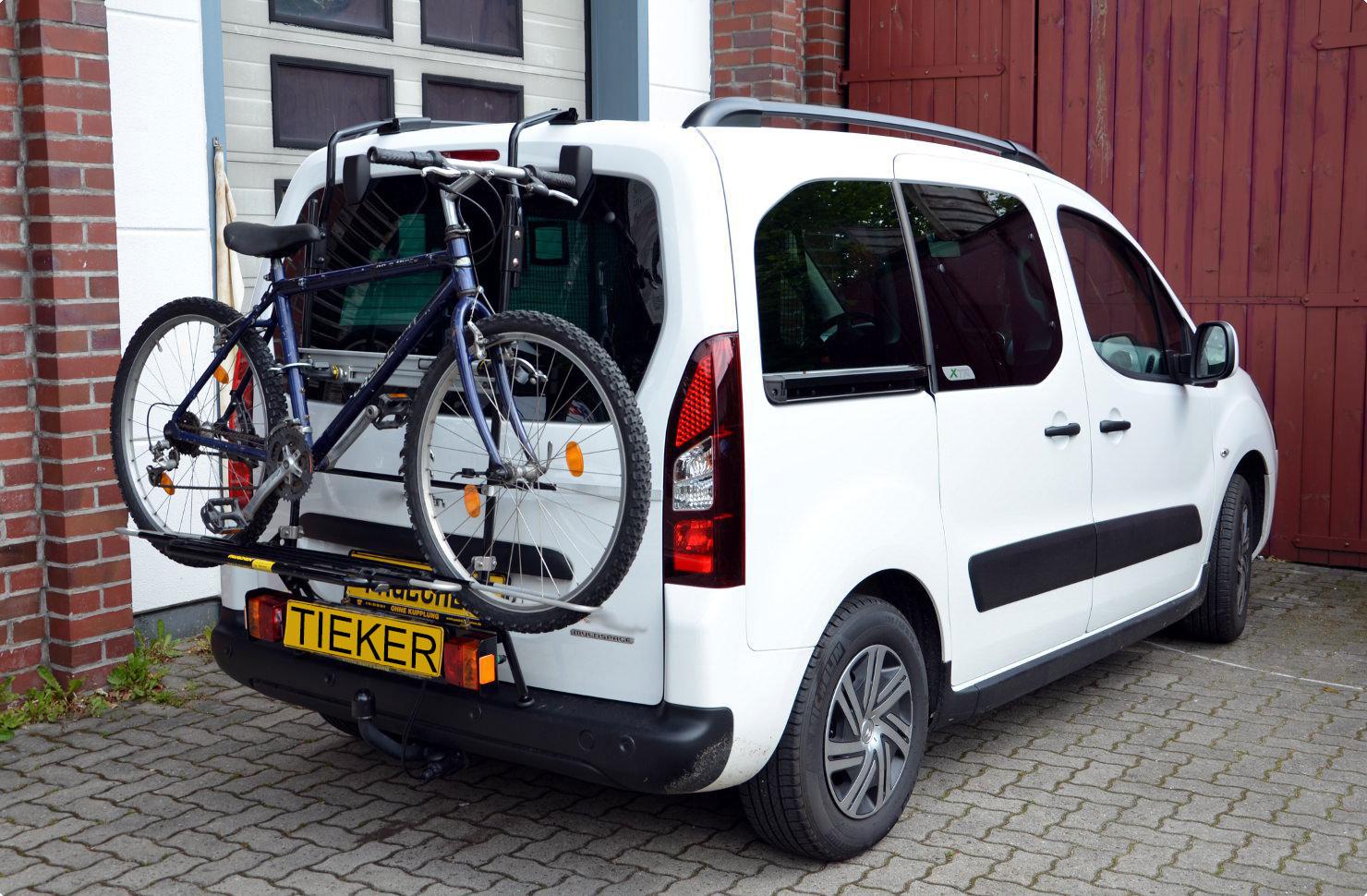 Fahrradträger Opel Combo Life Typ E Heckfahrradträger ohne Anhängerkupplung