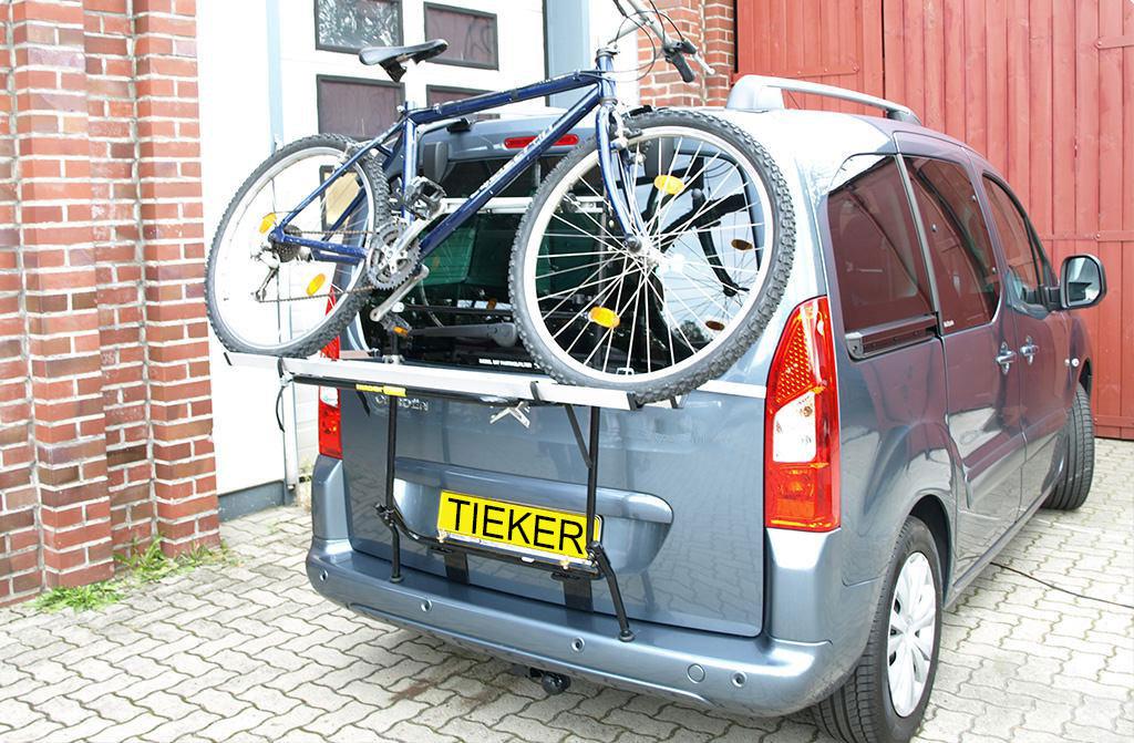 Heckfahrradträger Opel Combo Life Kofferraumklappe Fahrradträger