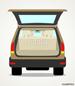 Kofferraumklappe kann bei montierten Träger geöffnet werden