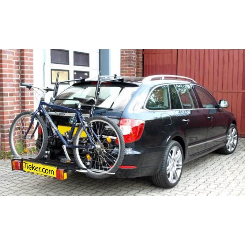 ab 2013 Fahrradträger Heckklappe für 2 Fahrräder Heckträger Skoda Rapid Bj