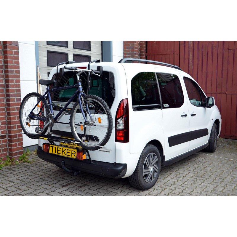 10-14 Fahrradträger Heckklappe 3 Räder TÜV GS Heckträger PEUGEOT 207 Kombi Bj