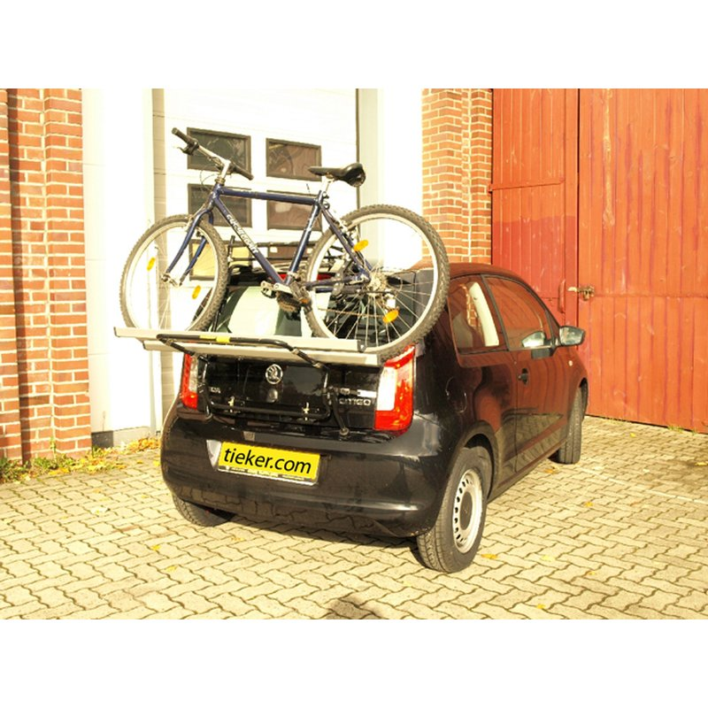 Heckträger Travel Fahrradträger kompatibel mit Seat Mii ab 12