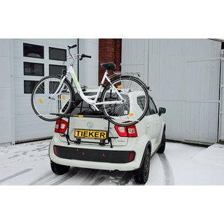 Fahrradtrager Suzuki Ignis III MF Paulchen Heckklappe